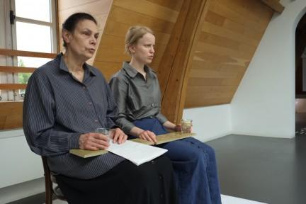1_performance Protestantse knopen van Voebe de Gruyter