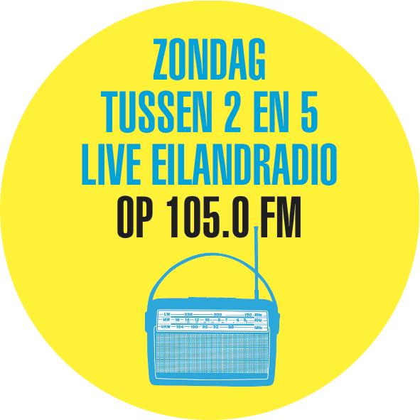 Eilandradio op zondag