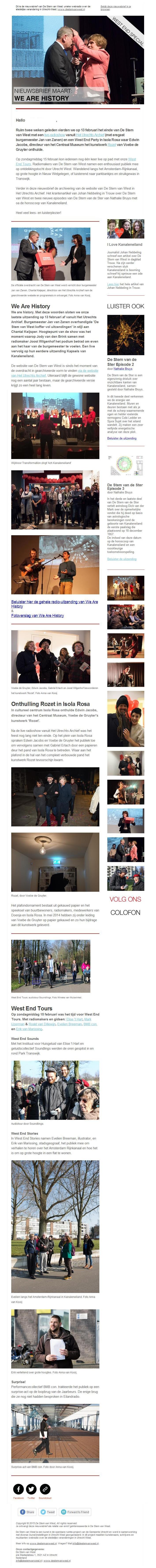 nieuwsbrief 23 - maart 2015