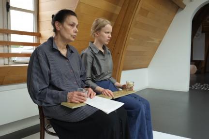 performance Protestantse knopen van Voebe de Gruyter